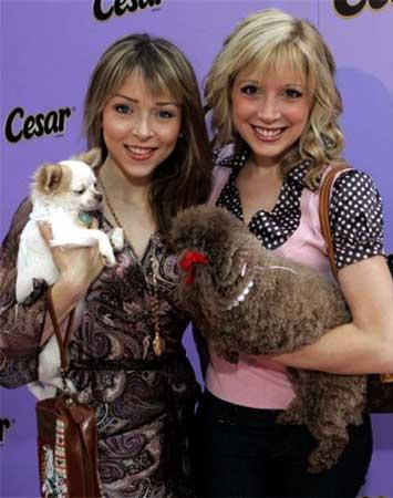 Ashley and Courtney Peldon