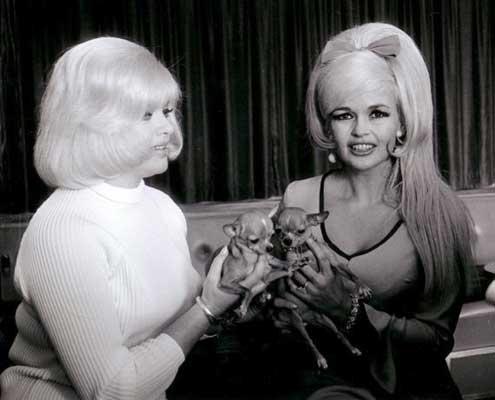 Jayne Mansfield and Diana Dors