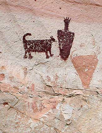 Horseshoe Canyon petroglyph