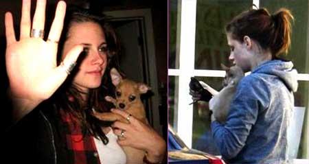 Kristen Stewart and Oz