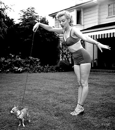 Marilyn and Choochoo
