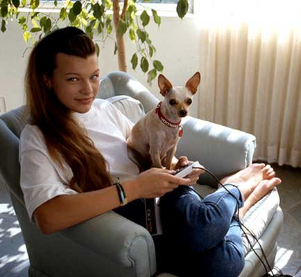 Milla Jovovich age