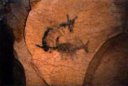 Central Arizona pictograph