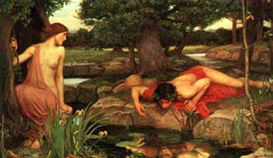 Narcissus by J. W. Waterhouse